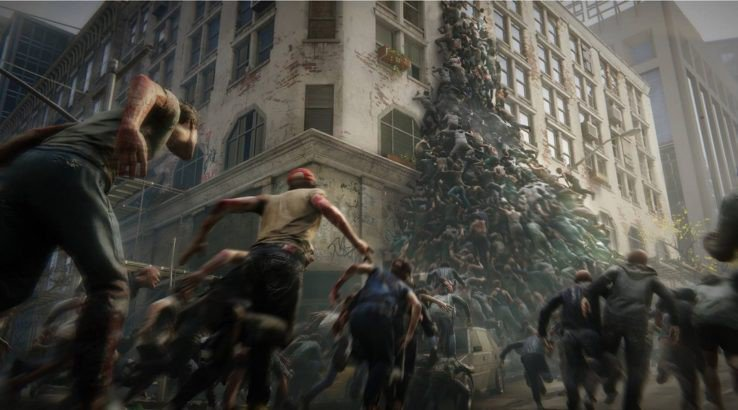 world war z video game zombies