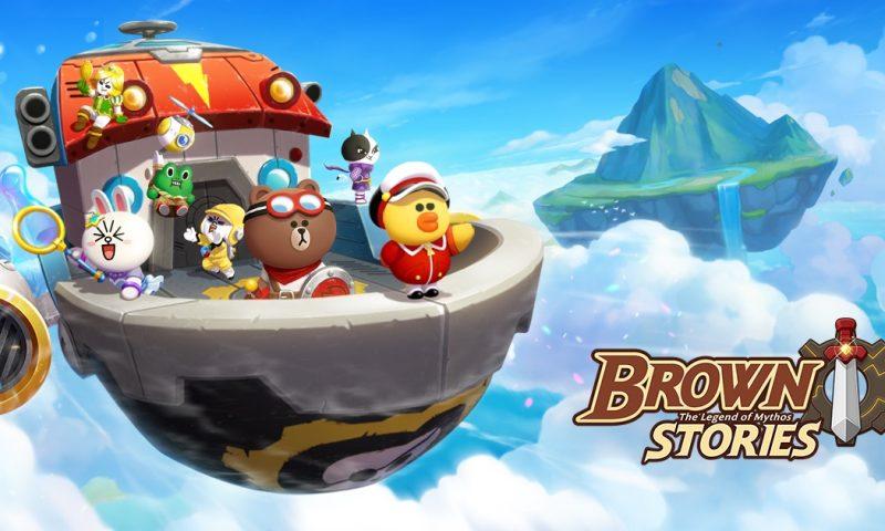 เปิดให้โหลดตัวเกมมือถือใหม่สุดแบ๊วจาก Line เกม BROWN STORIES