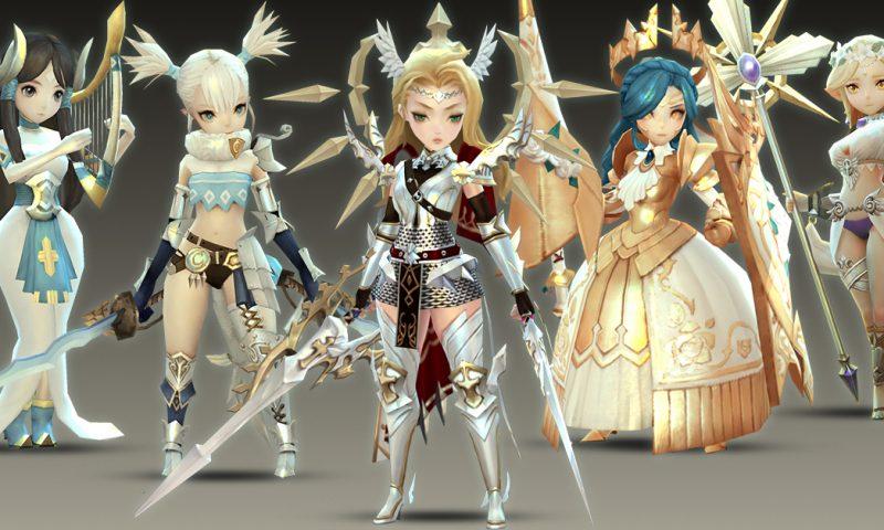 Crystal Hearts World แนะนำตัวละครภายเกม RPG สุดอลังที่กำลังมาไทย