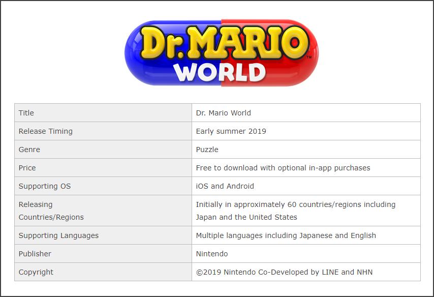 Dr Mario World 322019 2