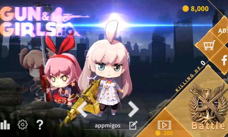 Gun&Girls เกมมือถือแนว Battle Royale ตัวละครสายแบ๊วหยิบปืนมายิงกัน