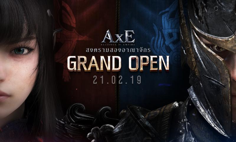 Nexon ได้ฤกษ์เปิดตัวเกมมือถือใหม่กราฟิกแรง AxE: Alliance vs Empire 21 ก.พ.