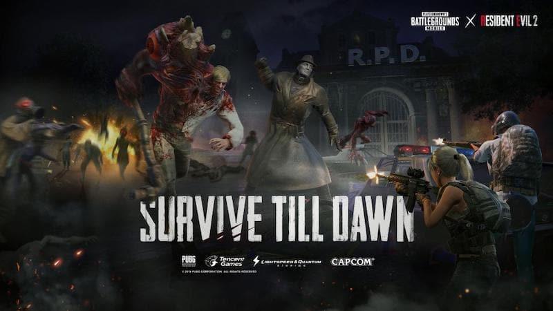 PUBG Mobile ปล่อยโหมดใหม่ Zombie สุดโหดจาก Resident Evil 2
