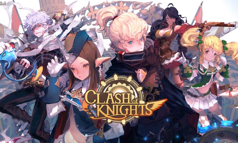 รีวิว Clash of Knights เกมมือถือแนว RPG สุดเมะระบบเกมเพลย์สุดมันส์
