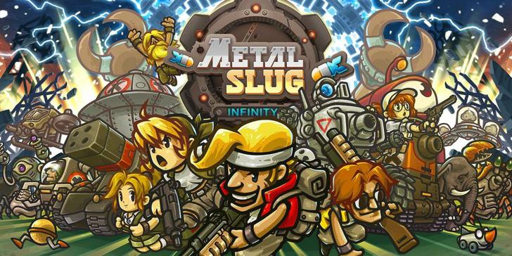Metal Slug Infinity เกมมือถือซีรี่ส์ระดับตำนาน เปิดให้ลงทะเบียนภาคใหม่แล้ว