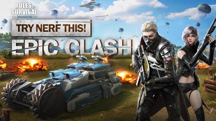 Rules of Survival อัพเดทโหมดการเล่นใหม่ Epic Clash ระเบิดพลังเหนือมนุษย์