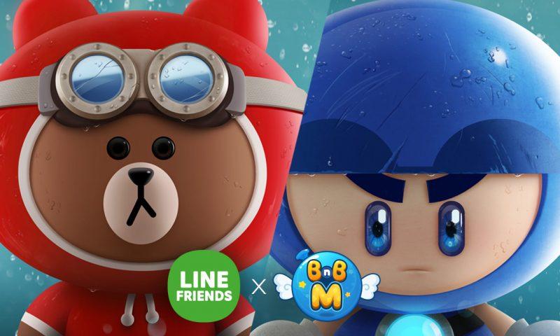 BnB M แท็กทีม LINE FRIENDS นำ BROWN และ MOON ร่วมแจมในเกม