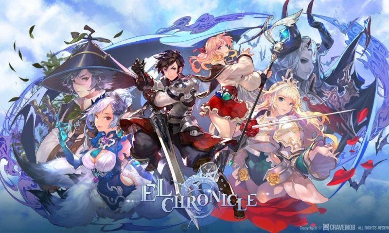 ELCHRONICLE เกมมือถือแฟนตาซีสุดอลังการเตรียมเปิดตัวในประเทศญี่ปุ่น