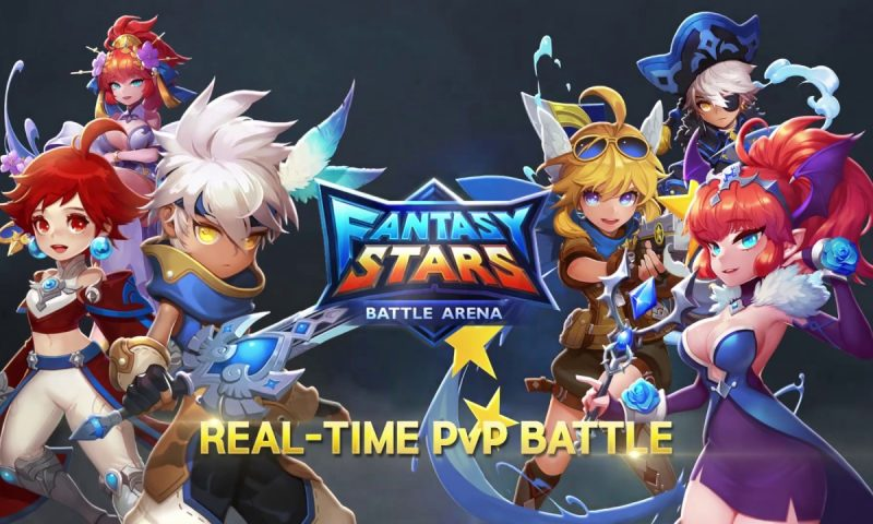 Fantasy Stars: Battle Arena เกมมือถือสไตล์ Clash Royale ตัวใหม่ลงสโตร์ไทย