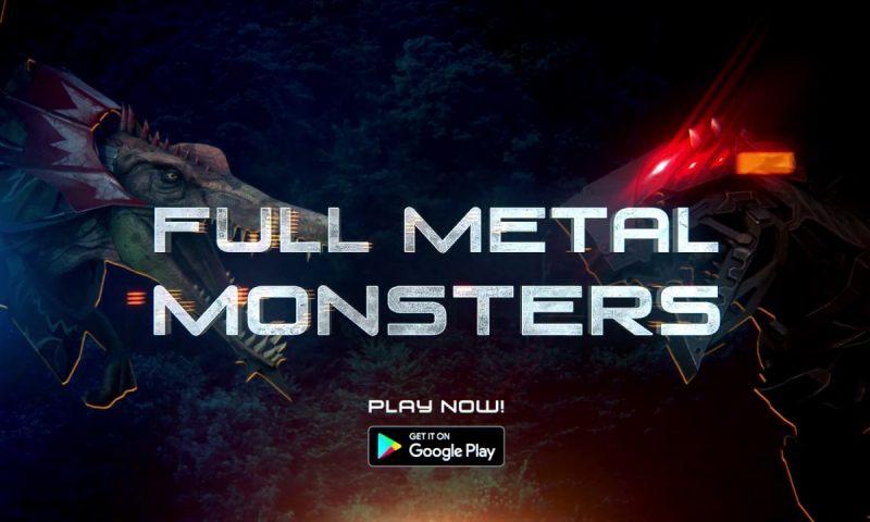 Full Metal Monsters เกมมือถือหุ่นรบไดโนเสาร์เปิดตัวบน Android