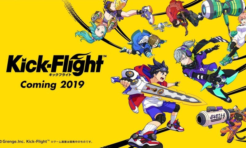 Kick Flight เกมมือถือสไตล์อนิเมะตัวใหม่จากญี่ปุ่น Effect อลังการ