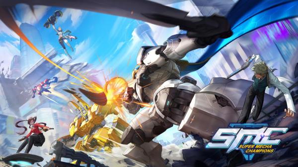 ปักหมุดรอ Super Mecha Champions เปิดตัวเกมมือถือหุ่นยนต์กราฟิกขั้นเทพ
