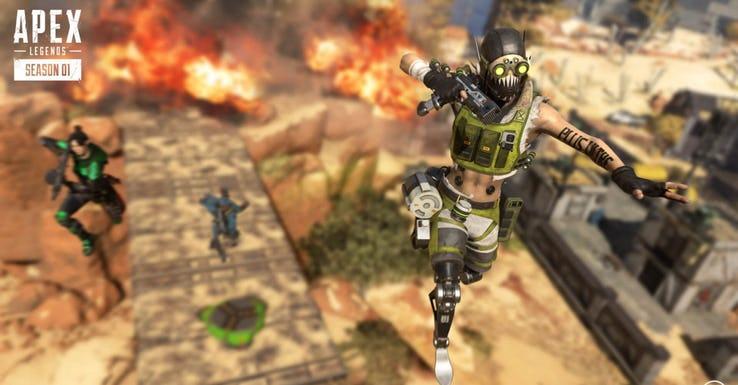 apex screenshot octane squad jump
