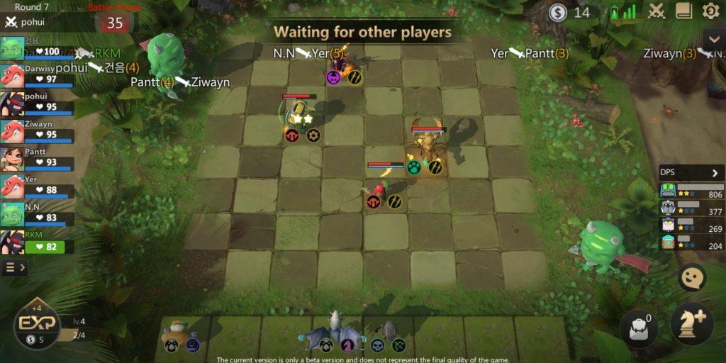 Auto Chess Mobile Auto Battle Phase