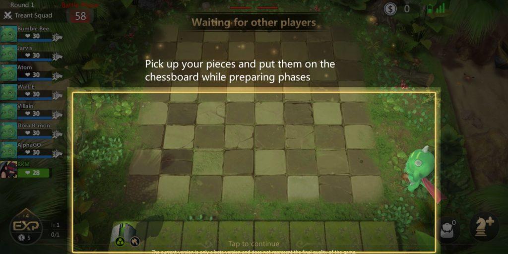 Auto Chess Mobile Prep Phase