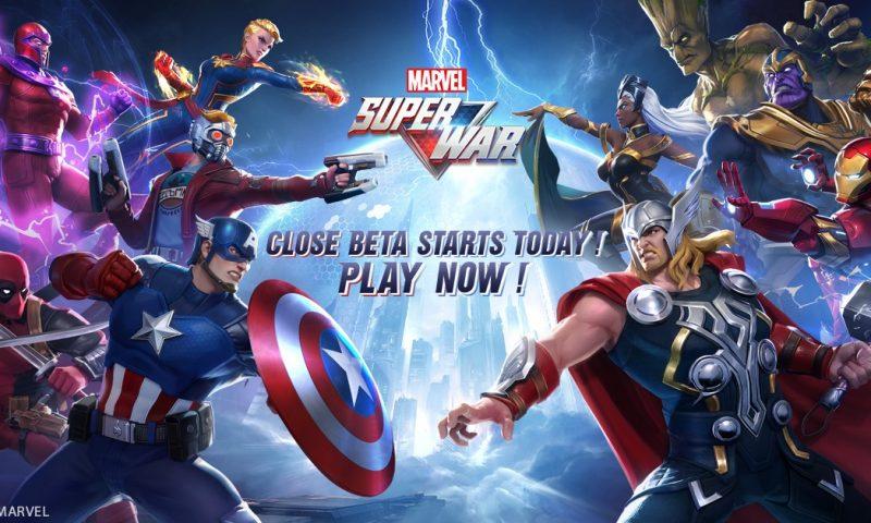 MARVEL Super War เกมมือถือ MOBA ซูเปอร์ฮีโร่ผลงาน Marvel
