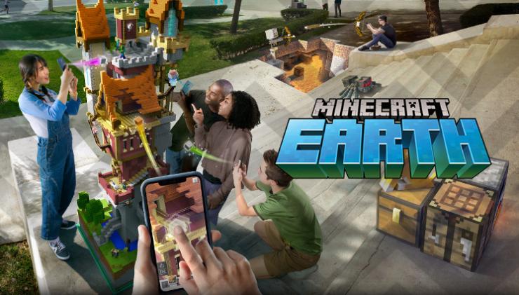 เปิดตัวทางการ Minecraft Earth เกมต่อบล็อก AR สุดอลัง