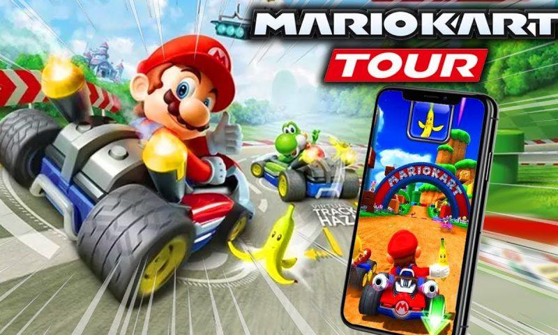 เกาะแน่นๆ นะน้อง Mario Kart Tour ล้อหมุนพรุ่งนี้