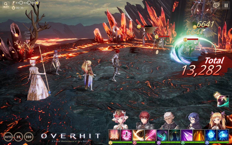 Overhit launch screenshot 1