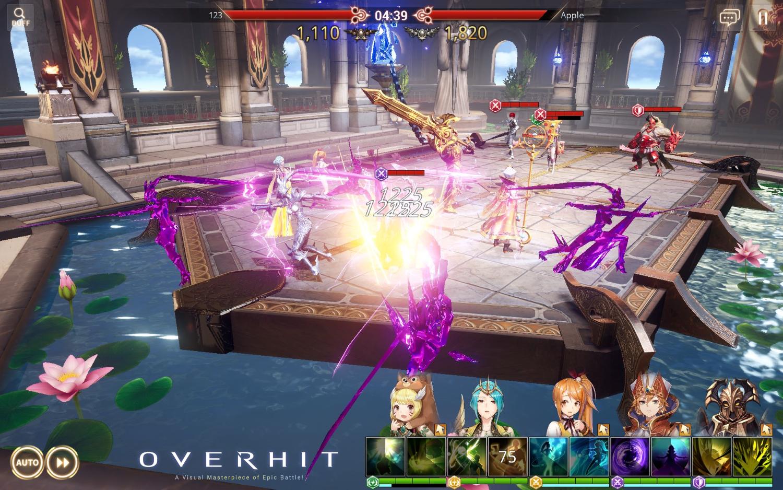 Overhit launch screenshot 2