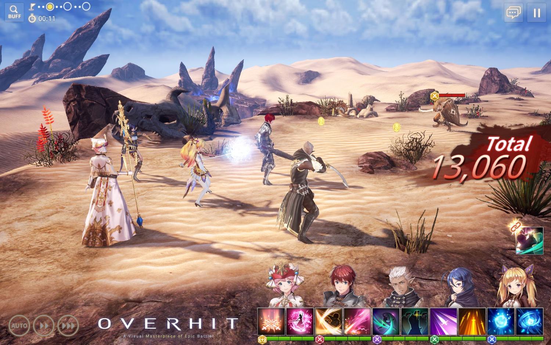 Overhit launch screenshot 4