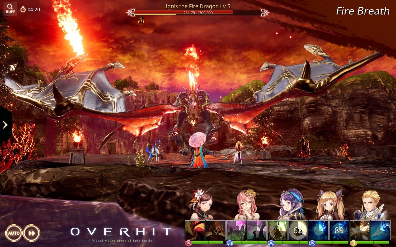 Overhit launch screenshot 5