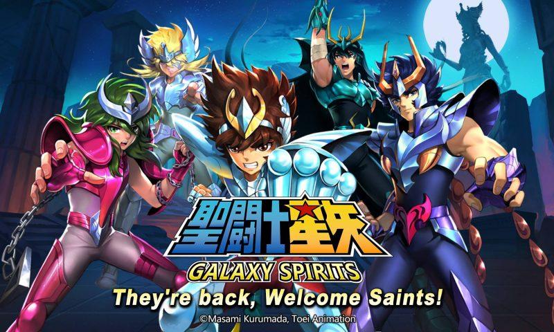 ได้เวลาระเบิดพลังคอสมอส Saint Seiya: Galaxy Spirits เปิด Official วันนี้