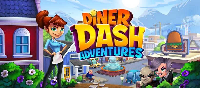 เอาใจสายกิน Diner Dash Adventures เปิดลงทะเบียนวันนี้