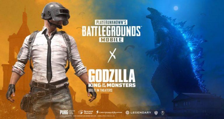 งามไส้ PUBG Mobile ปะทะ Godzilla: King of the Monsters