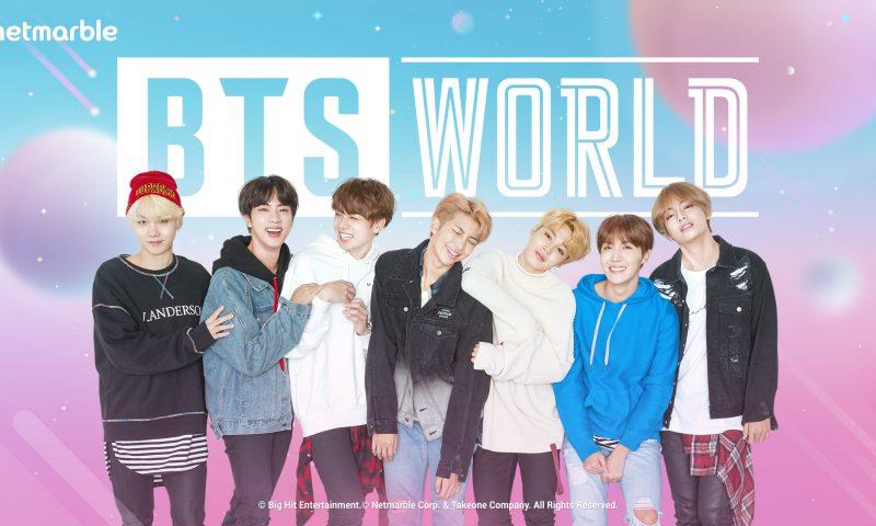 BTS WORLD เกมมือถือสวมบทบาทเป็นเมเนเจอร์ซุปเปอร์สตาร์ดัง