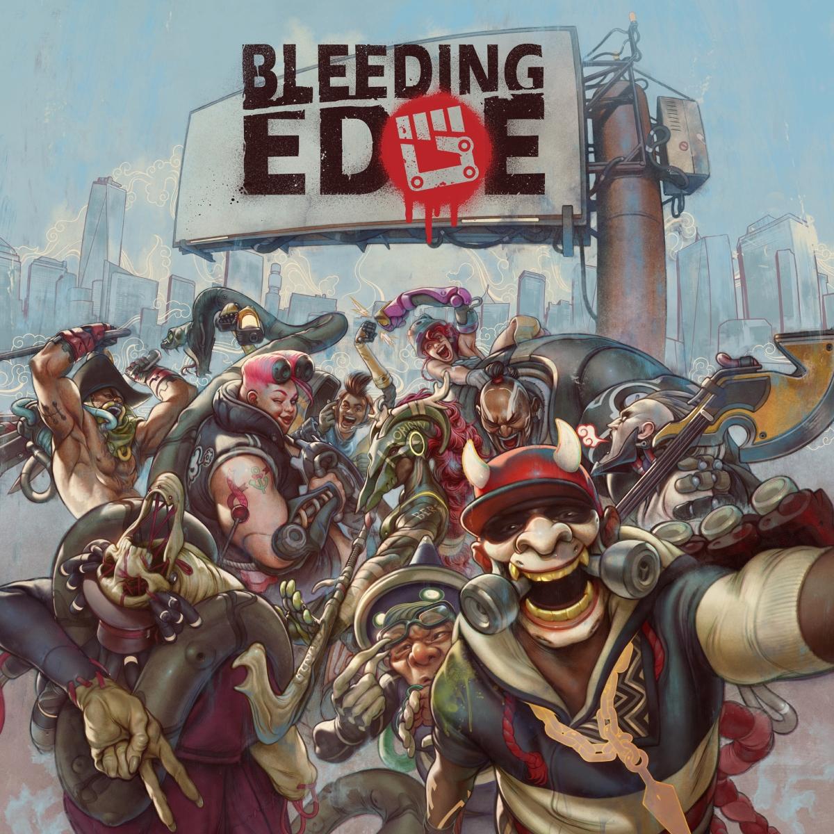 Bleeding Edge E3 2019 poster