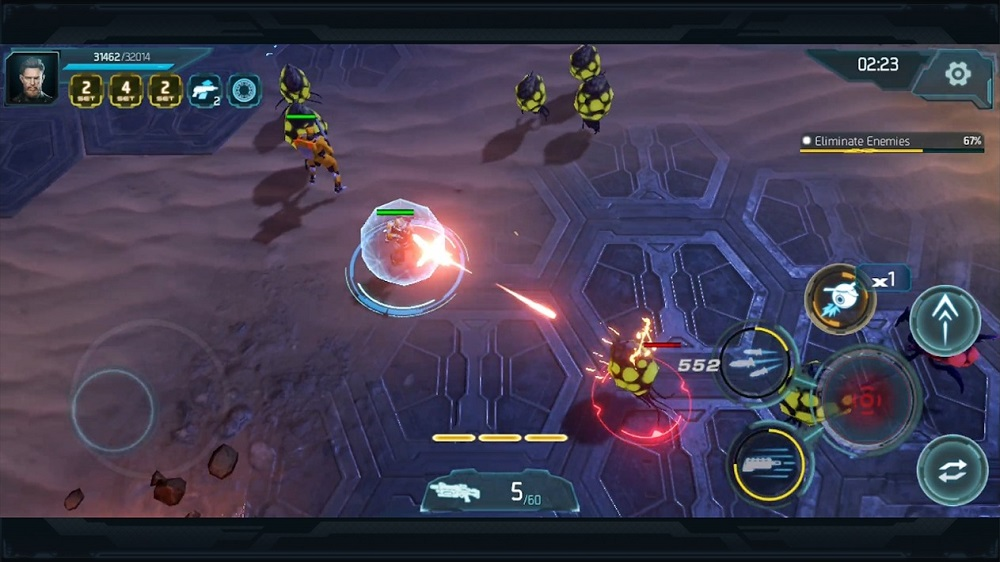 Gigantic X gameplay