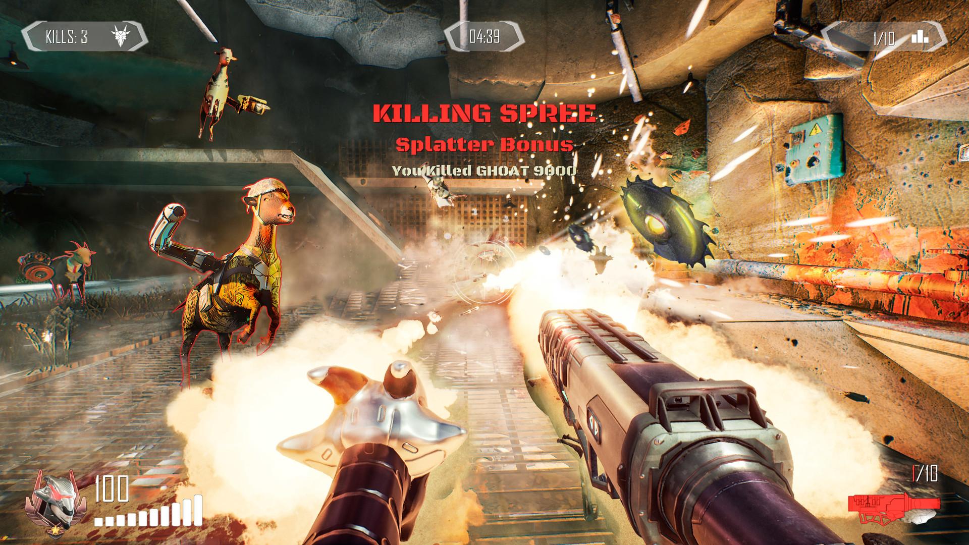 Goat of Duty screenshot 1