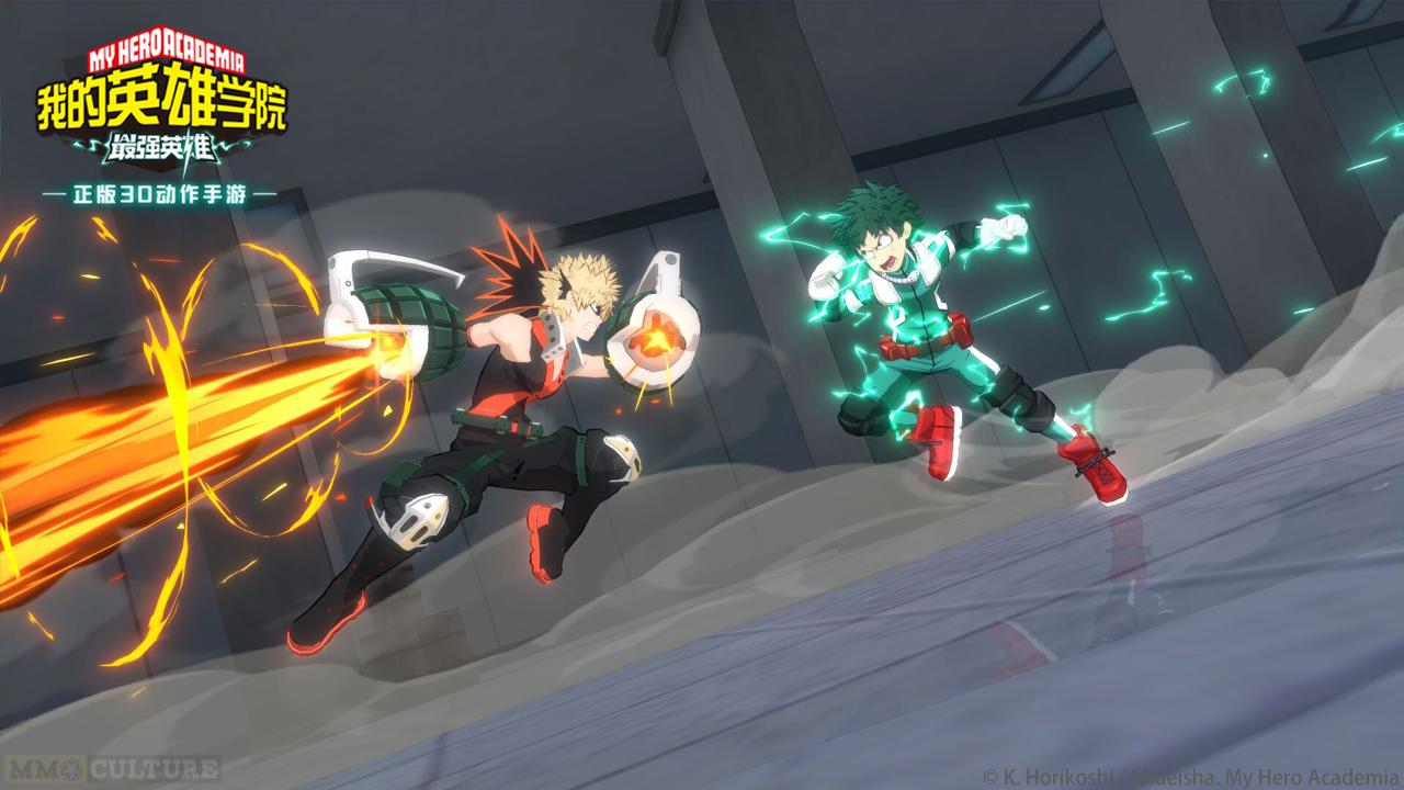 My Hero Academia The Strongest Hero Debut screenshot 1
