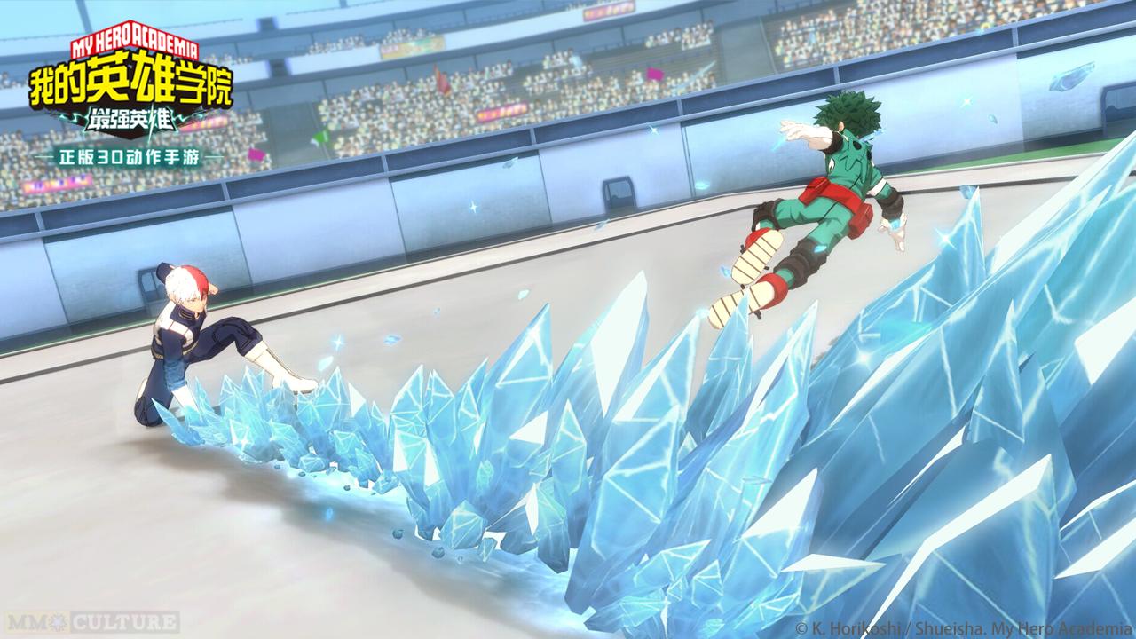 My Hero Academia The Strongest Hero Debut screenshot 2