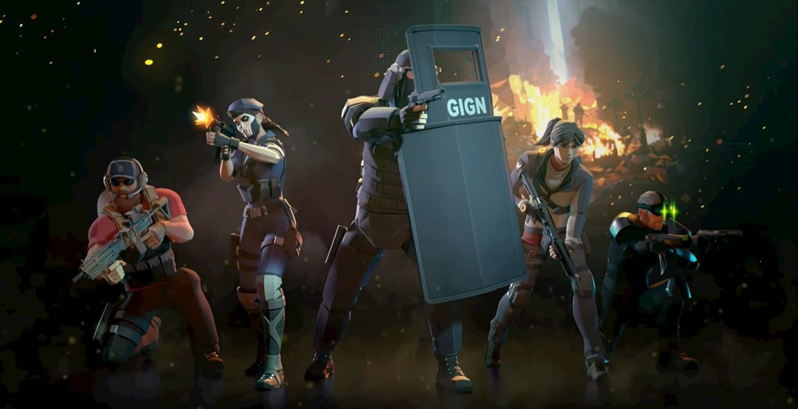 Tom Clancy Elite Squad mobile rpg