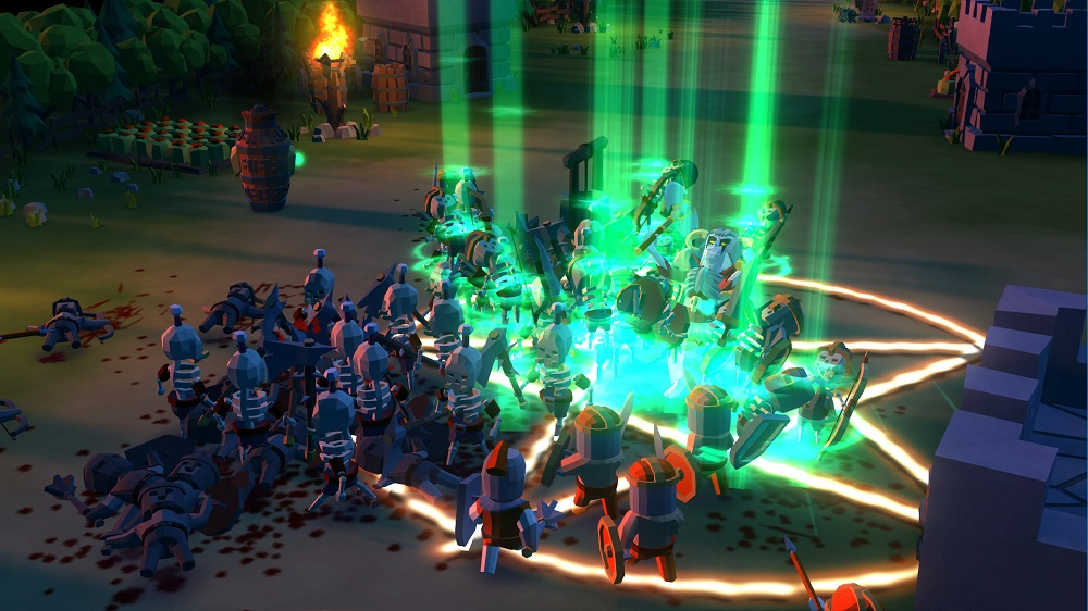 Undead Horde reanimating undead