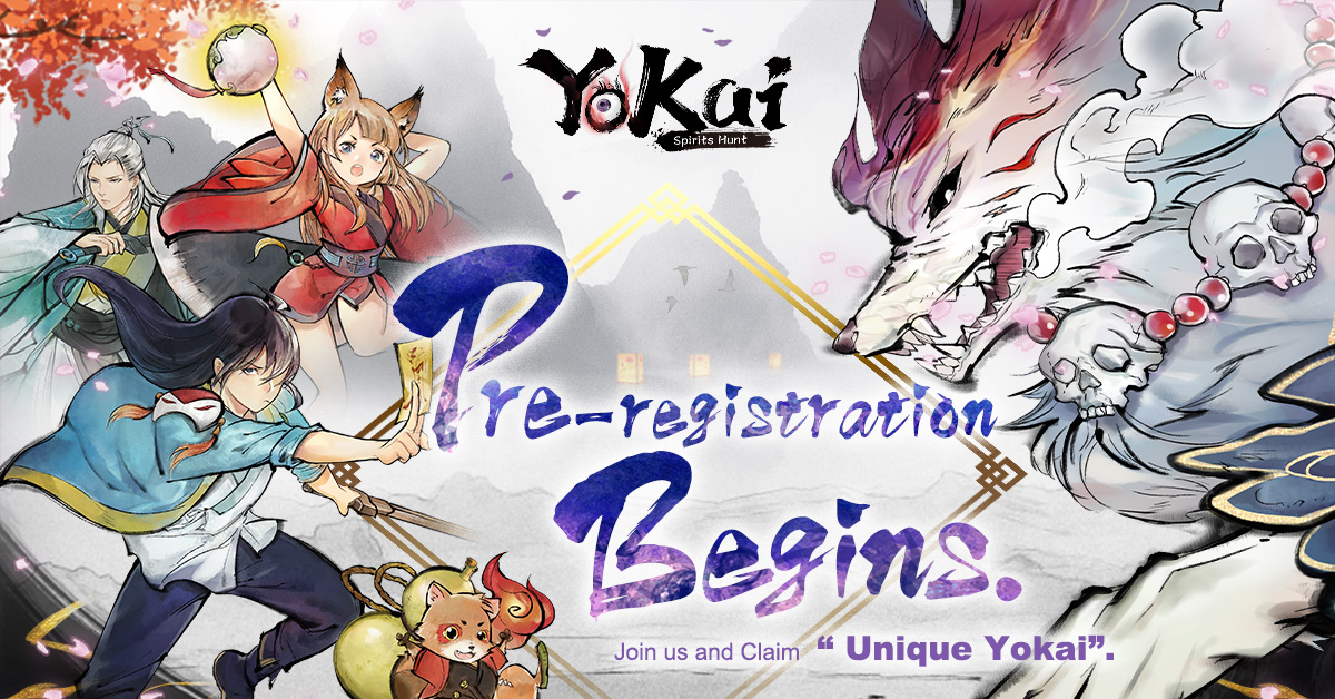 Yokai Spirits Hunt Pre register event image
