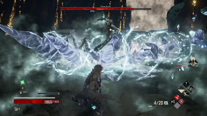 code vein boss battle