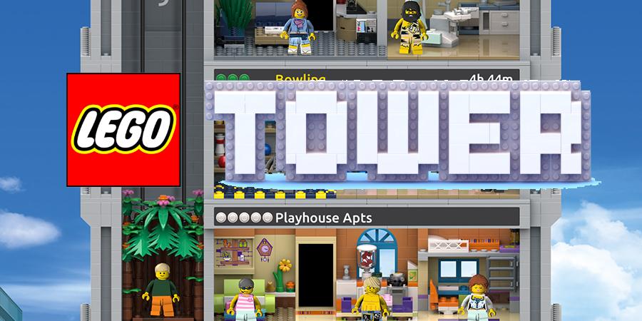 ไปสร้างตึกกัน LEGO Tower ลงสโตร์โกลบอลแล้วจ้า