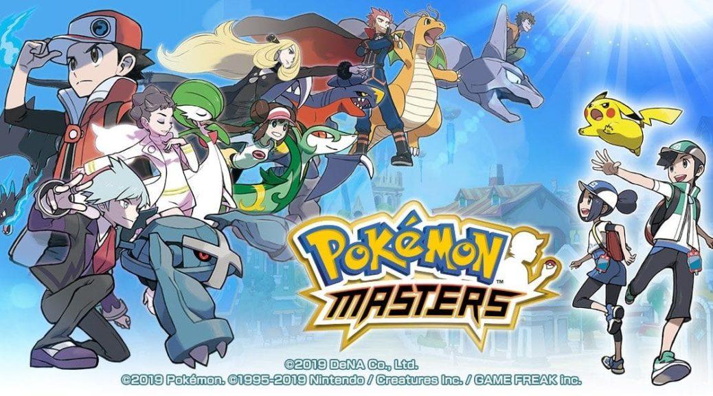 Pokemon Masters Website Splash