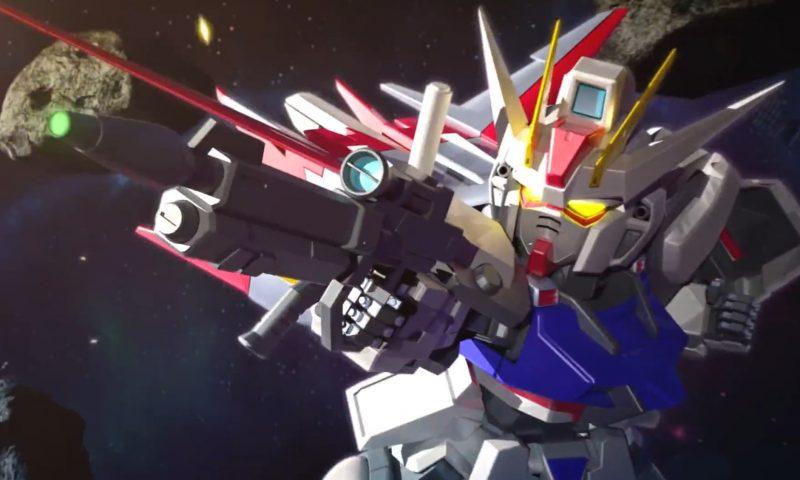 SD Gundam G Generation Cross Rays เผย Gameplay ตัวใหม่ล่าสุด