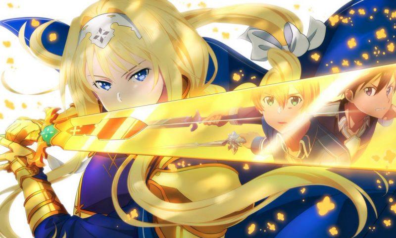 Sword Art Online: Alicization Lycoris สุดฟินภาพแรกของ Alice ภายในเกม