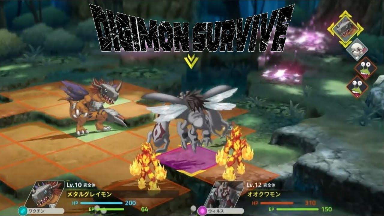 digimon survive opening movie
