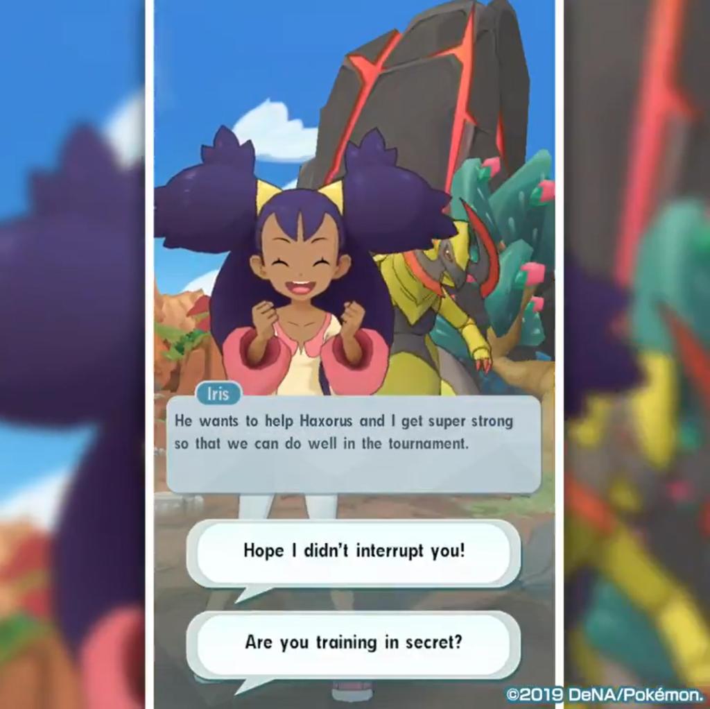 pokemon masters sync pair episode iris