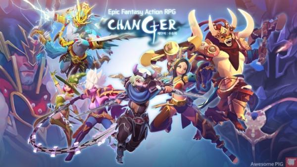 Changer เกมมือถือ Action RPG สุดแฟนตาซีเปิดให้เล่นในเกาหลี