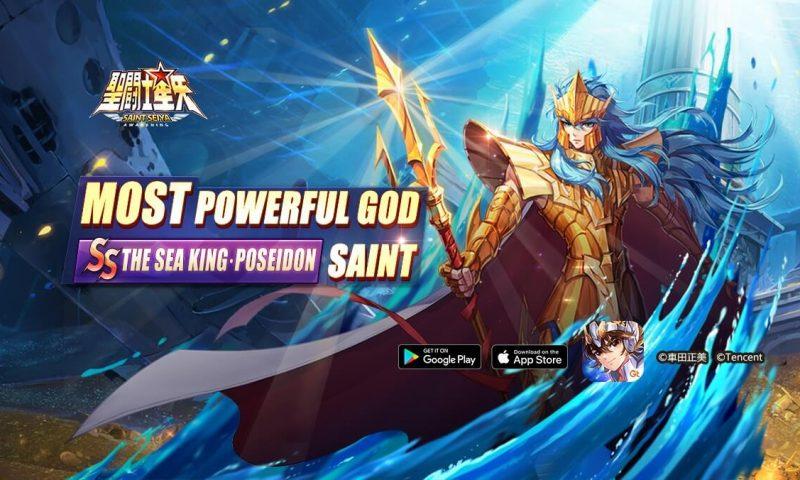 รีวิว Saint Seiya: Awakening ตัวละครใหม่เจ้าสมุทร โพไซดอน