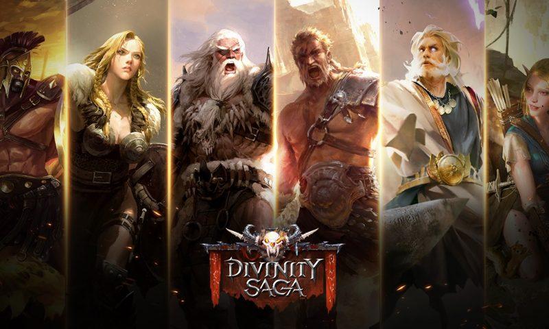 Divinity Saga สงครามทวยเทพเปิดตัวอย่างเป็นทางการแล้ว