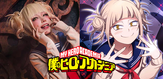 วายร้ายสาวจิตป่วย Himiko Toga จากการ์ตูน My Hero Academia