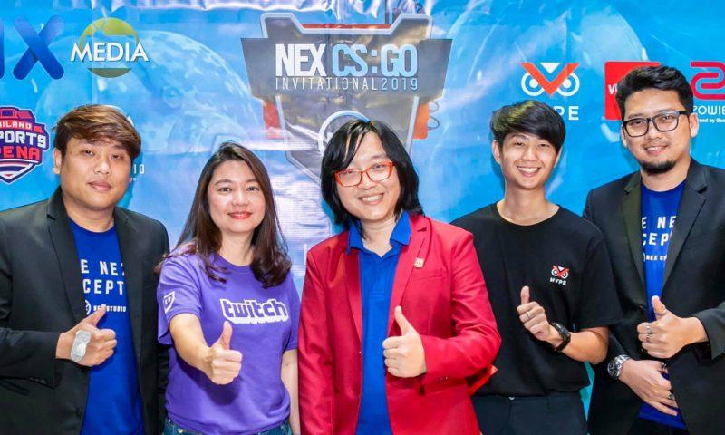 NEX Studio เตรียมจัดลีค Dota2 พร้อมกับการแข่งขัน CSGO ระดับเอเชีย
